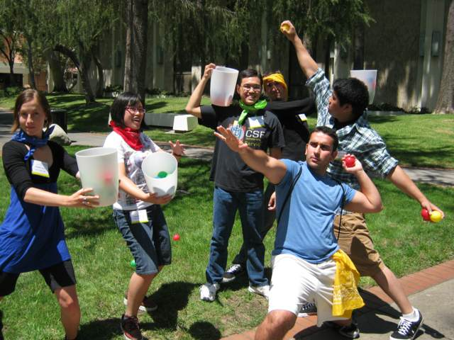 juegos en equipo aire libre