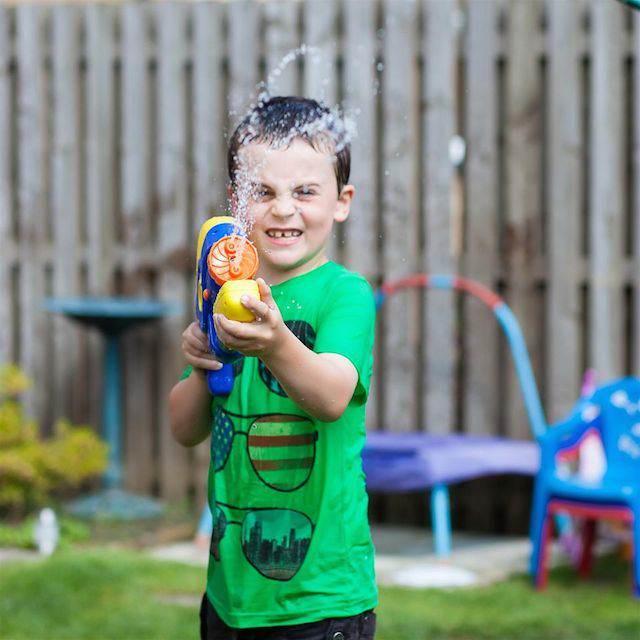juegos infantiles guerra riego agua cumpleaños infantiles