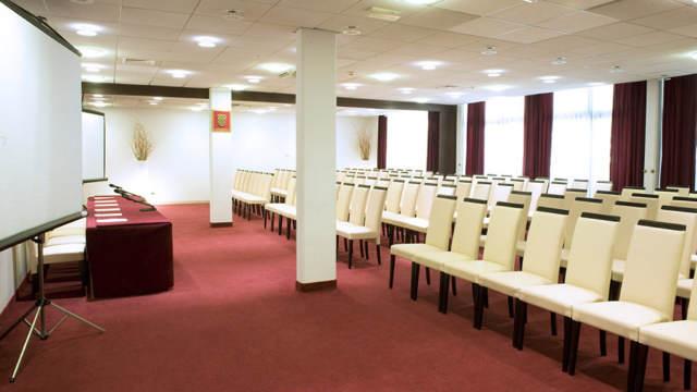 sala pequeño para congreso corporativo
