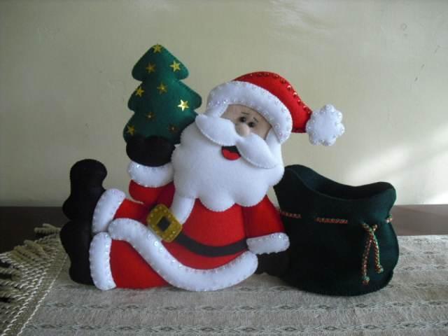 manualidades navideñas el papá noel