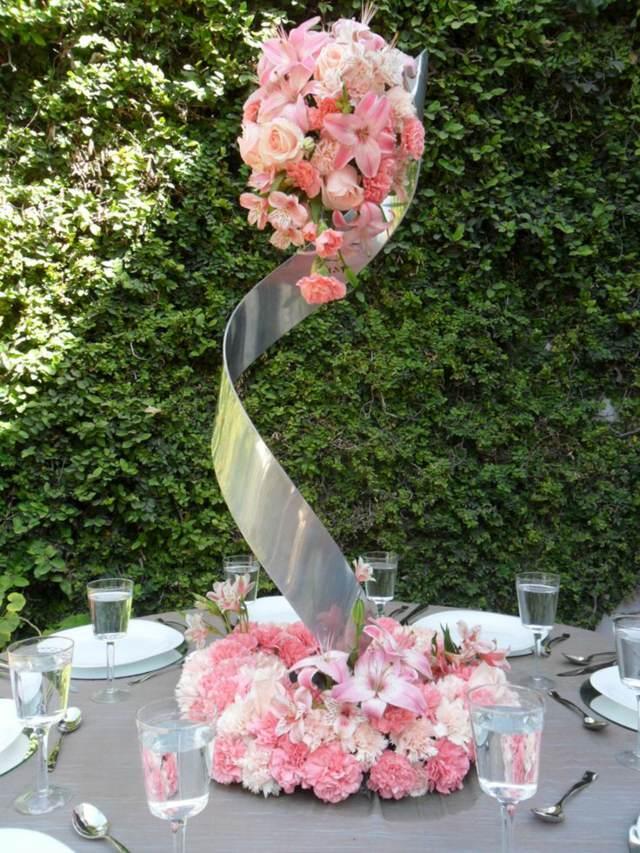 precioso centro mesa bodas