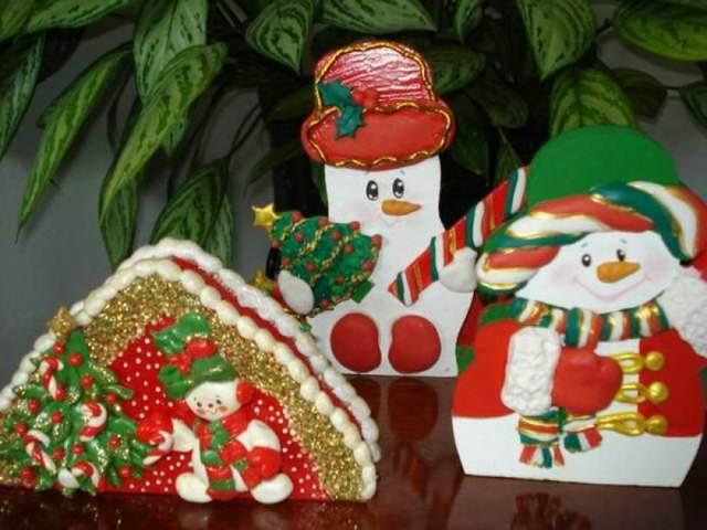 navidad una decoración manualidades interesantes
