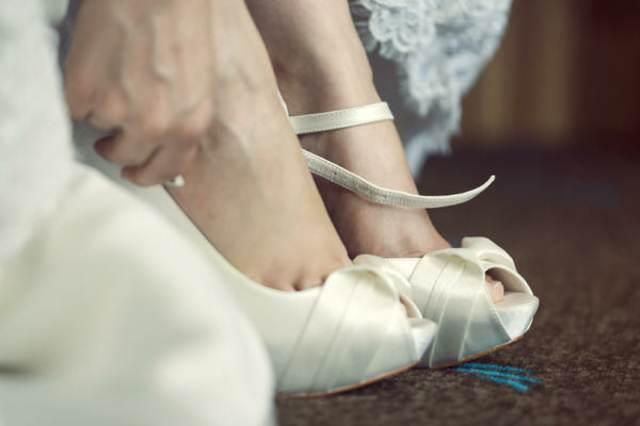 novia boda zapatos un detalle importante