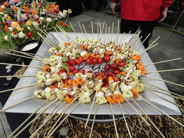 organización evento catering exótico decoración innovadora
