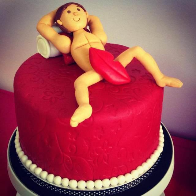 pastel temático para despedida de soltera