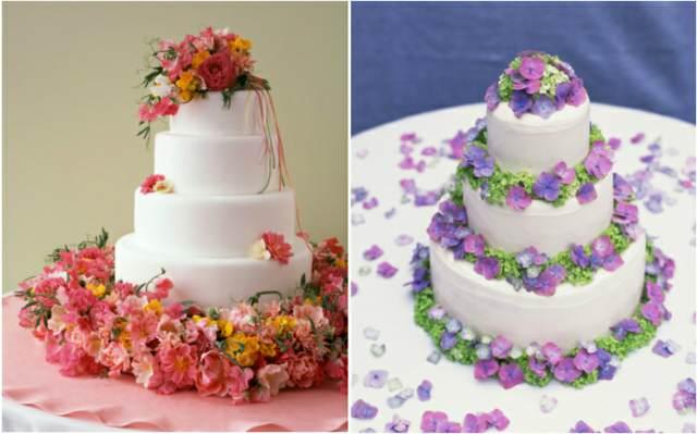 pasteles decoración de flores ideas interesantes