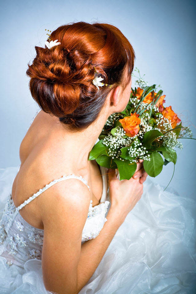 peinado de novia moño chignon moderno