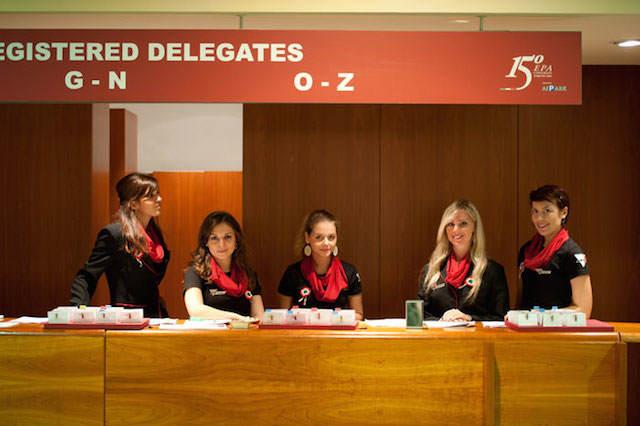 personal adicional para eventos inscripción de invitados