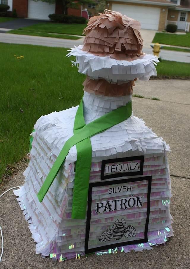 piñata botella regalo diferente cumpleaños hombre
