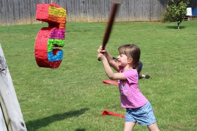 piñata para cumpleaños infantiles cinco años