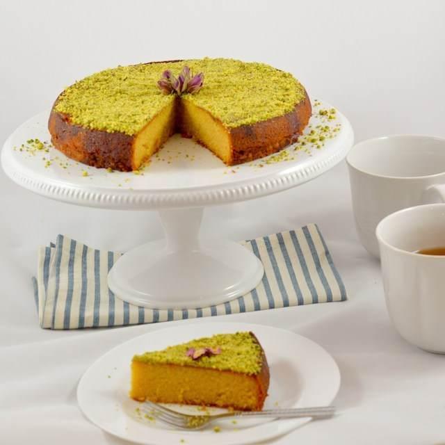 postre fácil tarta limón almendras preparación rápidamente