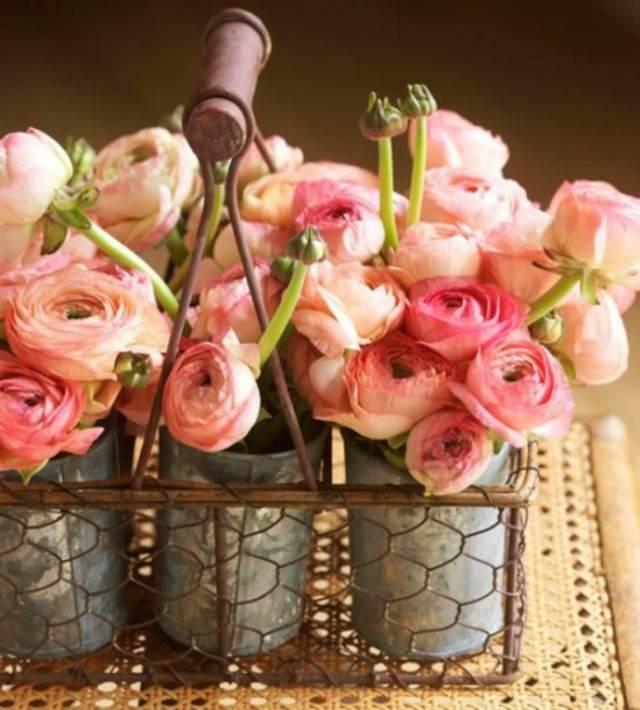 ramos de flores decoración magnífica con rosas hermosas