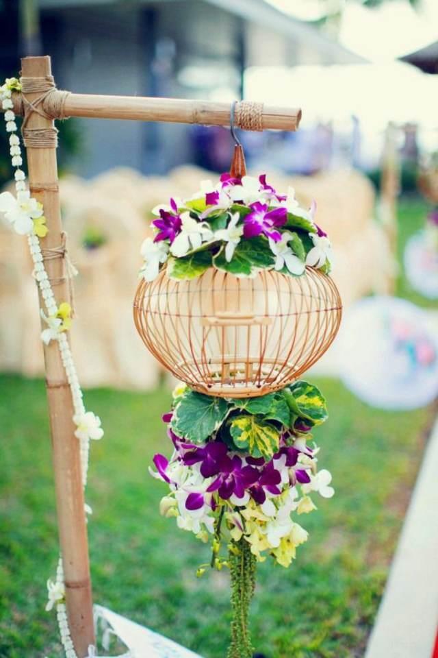 unas orquideas decoración original para su fiesta