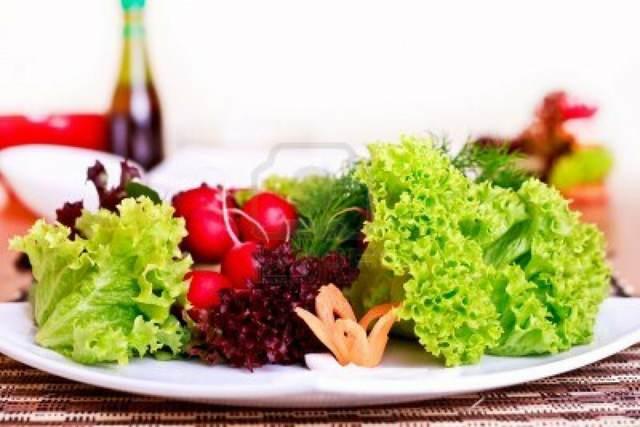 recetas vegetarianas unas verduras frescas