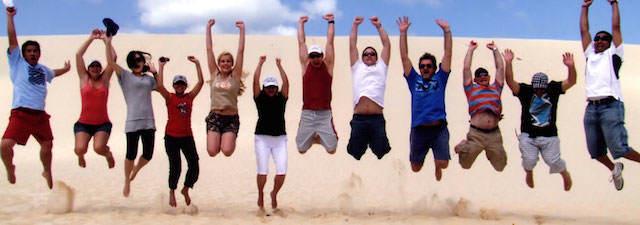 recursos humanos hacer diversión entusiasmo para equipo