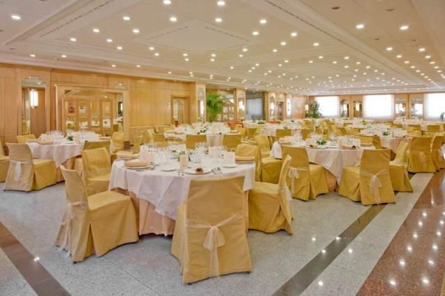 salón banquetes hotel una decoración elegante
