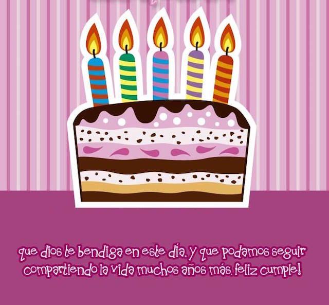 seguir compartiendo la vida años felicitar fiesta