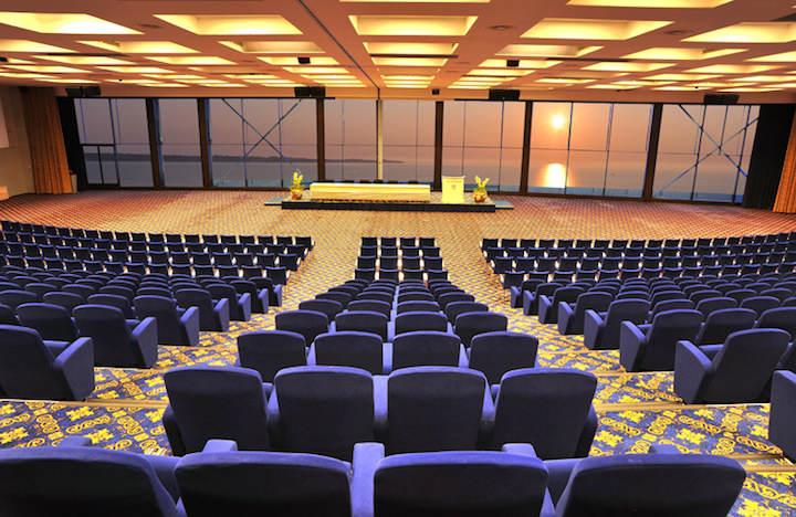 seminario sala moderna confortable paisaje guapo puesta del sol