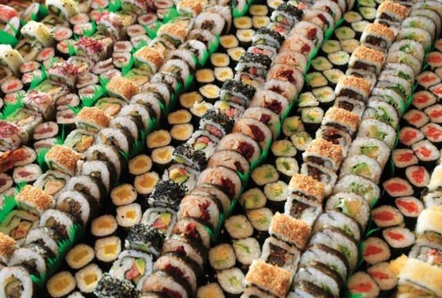 sushi fiesta temática japonesa decoración preciosa
