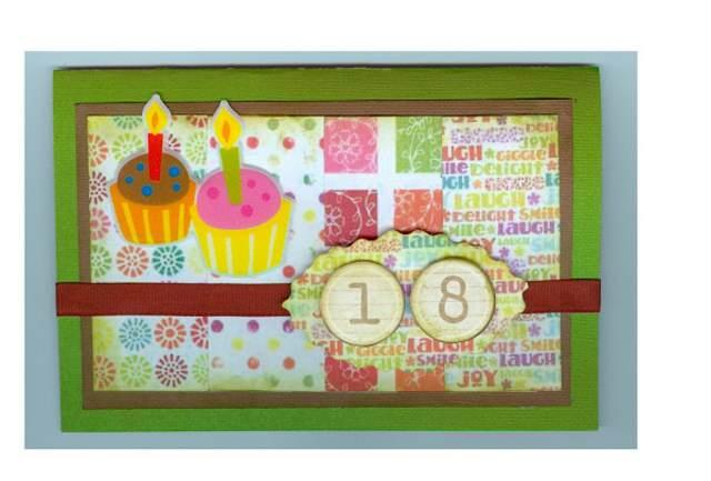 la tarjeta preciosa regalo día de cumpleaños