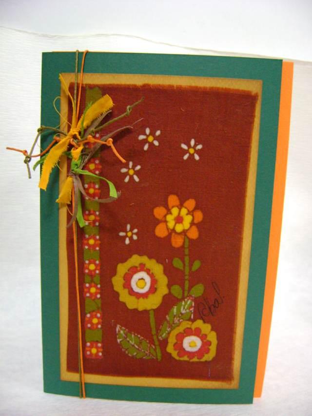 tarjetas de cumpleaños los colores verde amarillo