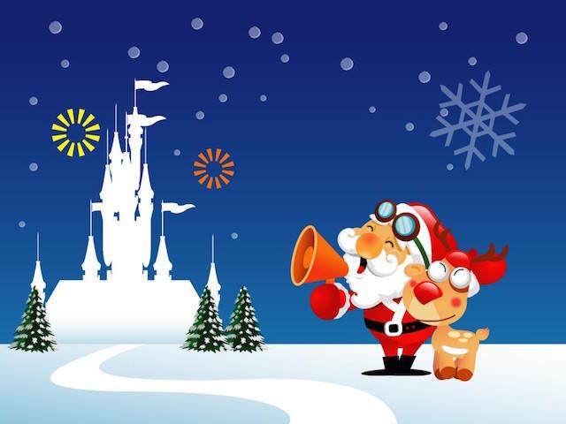 tarjetas de Navidad ideas divertidas diferentes papa Noel