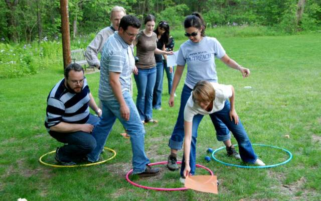 team building al aire libre