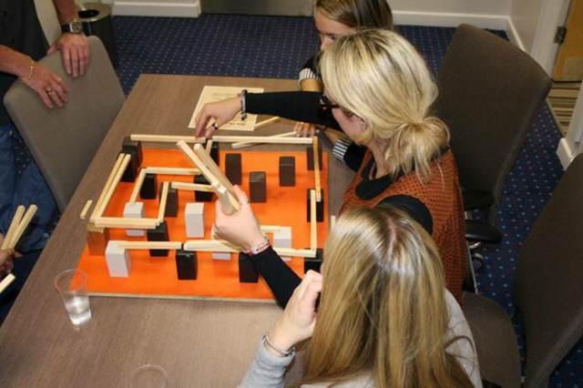 team building actiividadest en invierno sala