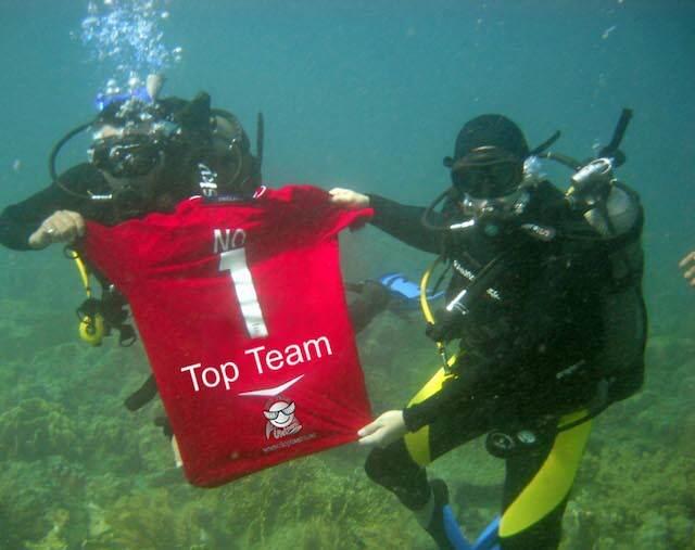 organizar team building extremo bajo agua