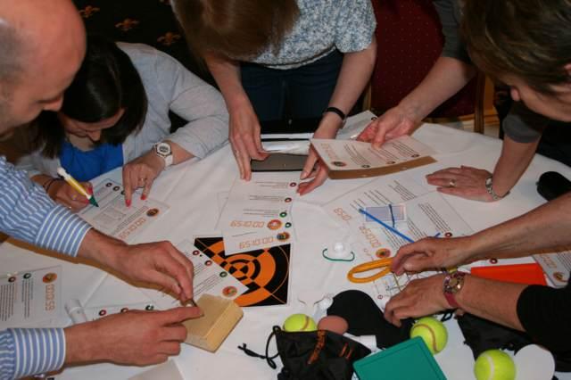 team building invierno actividades en sala