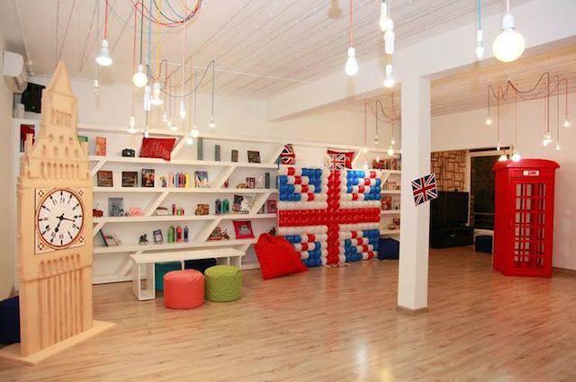 tema Londres decoración habitación elementos ingleses