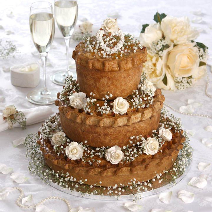 variante de clásicos pasteles de boda tarta de boda decoración tierna