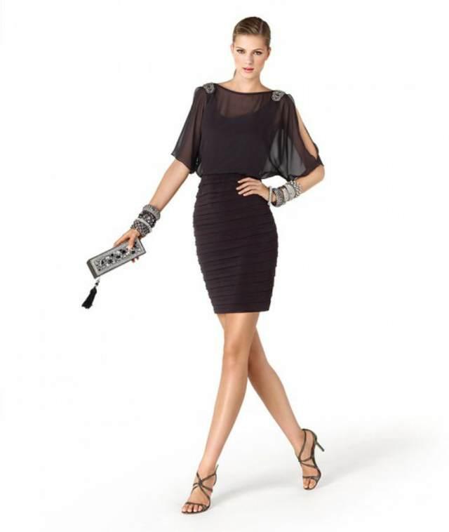 vestidos de coctel nuevas tendencias