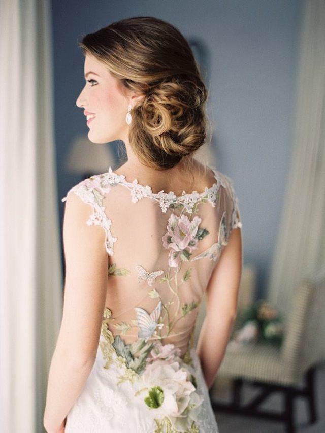 vestido de novia inspirado en cuentos de hadas estilo vintage
