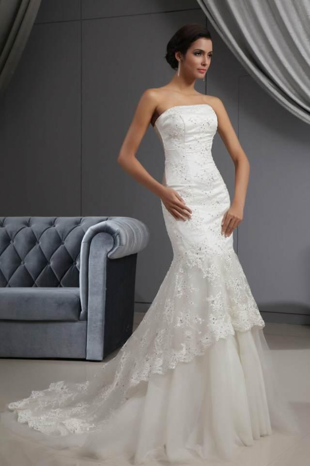 vestido de novia tipo sirena un vestido precioso