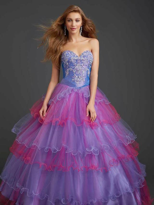 vestido estilo cuentos de hadas colores modernos