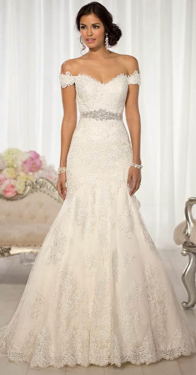 vestido precioso una novia elegante las tendencias modernas