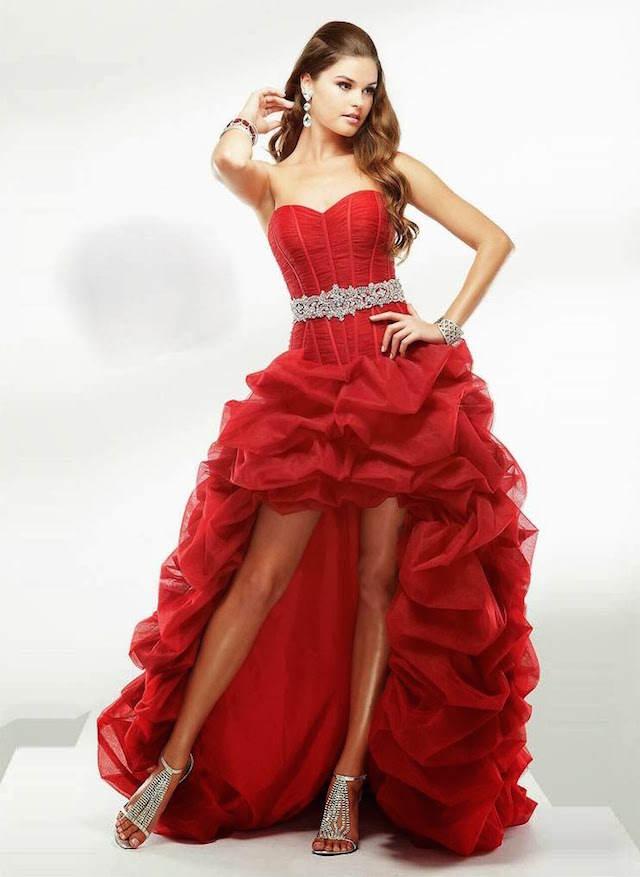 vestidos de 15 años combinación falda corto largo