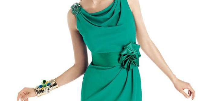 vestidos-de-coctel-color-verde-tendencias-modernas