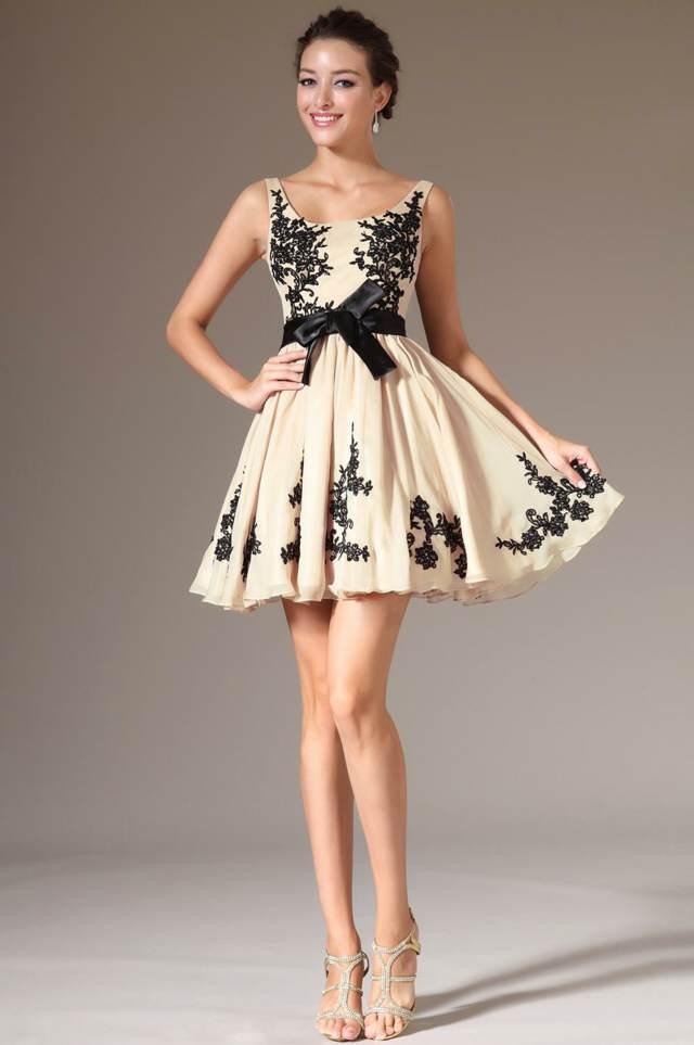 vestidos de graduación un modelo corto precioso