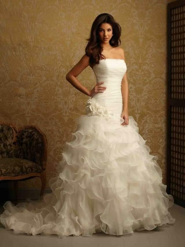 vestidos de novia tipo Cenicienta idea preciosa inolvidable