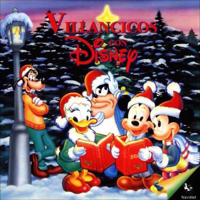 villancicos Disney atmósfera Navidad niños celebrar