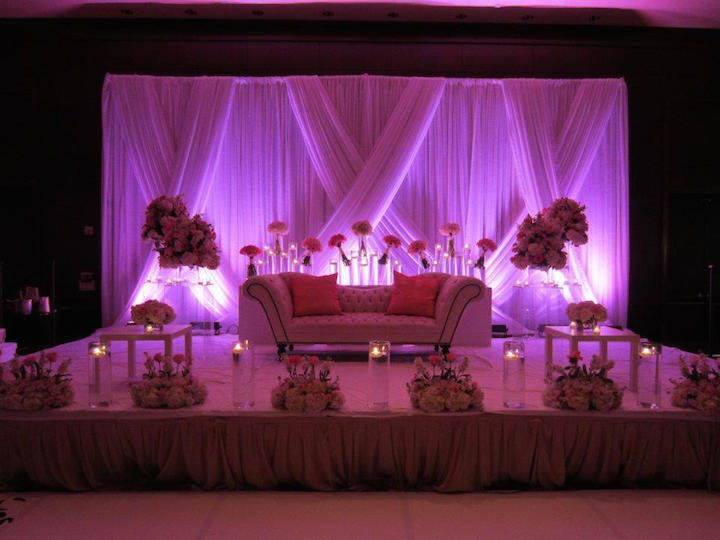 14 de febrero una fiesta corporativa diferente for American wedding stage decoration