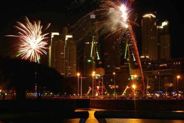 Año Nuevo Buenos aires Argentina celebración preciosidad