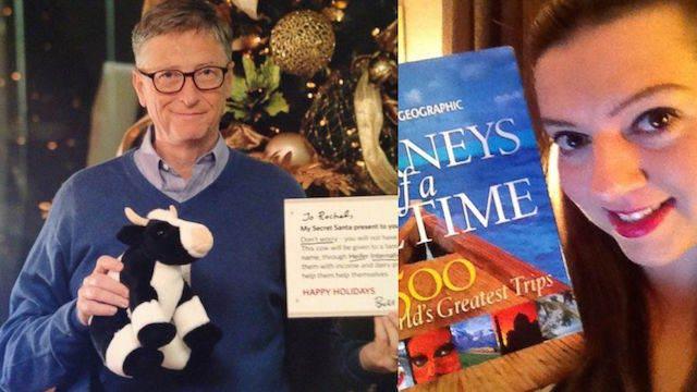 Bill Gates juego amigo invisible Rachel