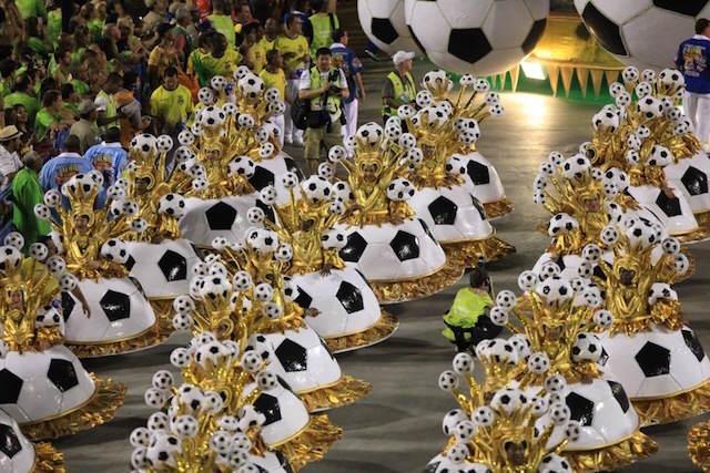 Carnaval 2015 Paraguay Encarnación espectáculo