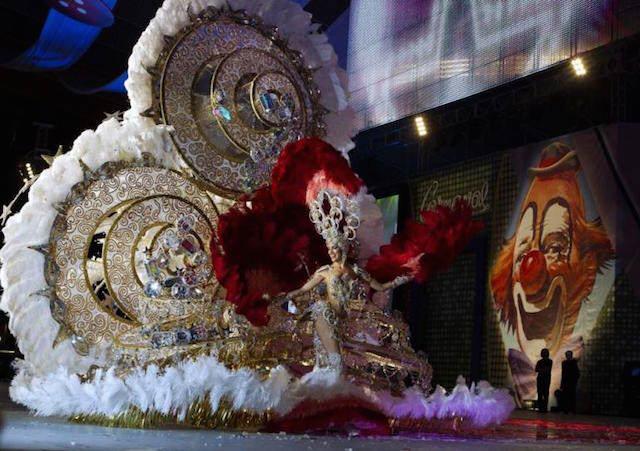Carnaval 2015 Santa Cruz de Tenerife espectáculo