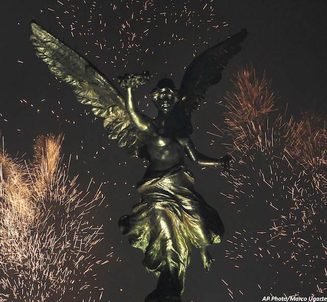 Celebración suntuosa Mexico Año Nuevo