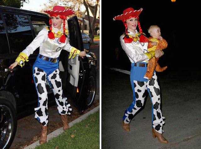 Jessie Toy Story disfraces originales divertidos Gwen Stefani