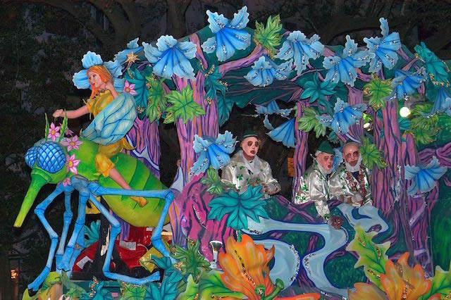 Nueva Orleans Carnaval 2015 suntuoso enero